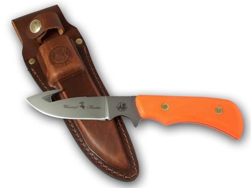 Knives Of Alaska Trekker Whitetail Orange