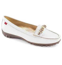 Marc Joseph New York Marc Joseph New York Orchard Street Golf Shoe White