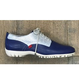 Marc Joseph New York Marc Joseph New York Pacific Golf Shoe Blue Print