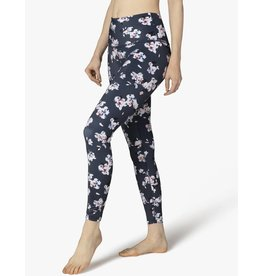 Beyond Yoga Beyond Yoga Lux High Waisted Midi Legging Floral Navy