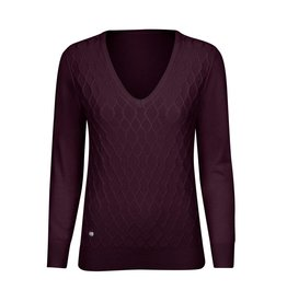Daily Sports Daily Sports Amie V-Neck Pullover Wine