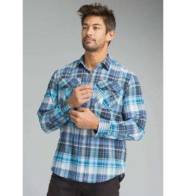 prAna Citadel Plaid Shirt Clear Blue