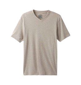 prAna prAna V-Neck T-Shirt Dk Khaki Hthr.