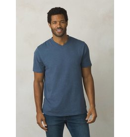 prAna prAna V-Neck T-Shirt Denim Hthr.