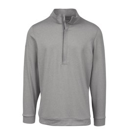 Matte Grey Matte Grey Hightower Half Zip Wolf Heather