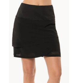 Lucky In Love Lucky in Love Border Scallop Skort Black