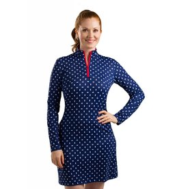 San Soleil San Soleil SolStyle Cool Dress Deauville Navy