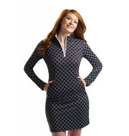 San Soleil San Soleil SolStyle Cool Dress Honeycomb Black