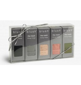 Blush Lingerie Blush Mesh Thong 5-Pack