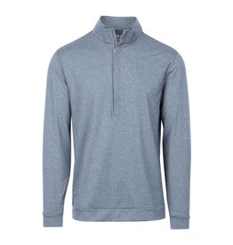 Matte Grey Matte Grey Hightower Half Zip Dark Denim