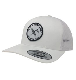 Surf & Turf Golf Surf & Turf Golf Course to Coast 2 Hat White