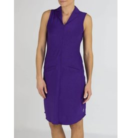 Jofit Center Seam Golf Dress Purple Mist