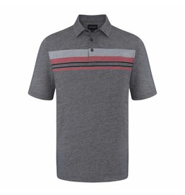 Chase 54 Chase 54 Bounce Polo Dark Heather XL