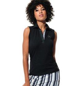 MDC Sportswear MDC Star Sleeveless Polo Black