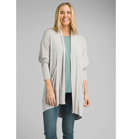 prAna Foundation Wrap Light Grey Heather
