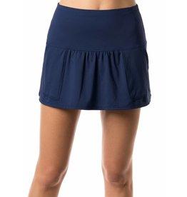 Lucky In Love Lucky In Love Long Pocket Skirt Blueberry