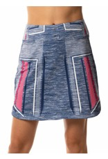 Lucky In Love Lucky In Love Shape It Up Skort Long Blueberry