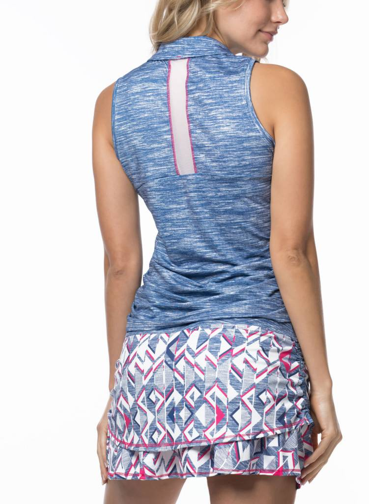 Lucky In Love Lucky in Love Static Mesh Back Tank