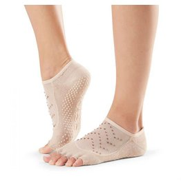 ToeSox Grip Half Toe Luna Nude/Stones