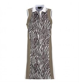 Golfino Golfino African Safari Dress Optic White