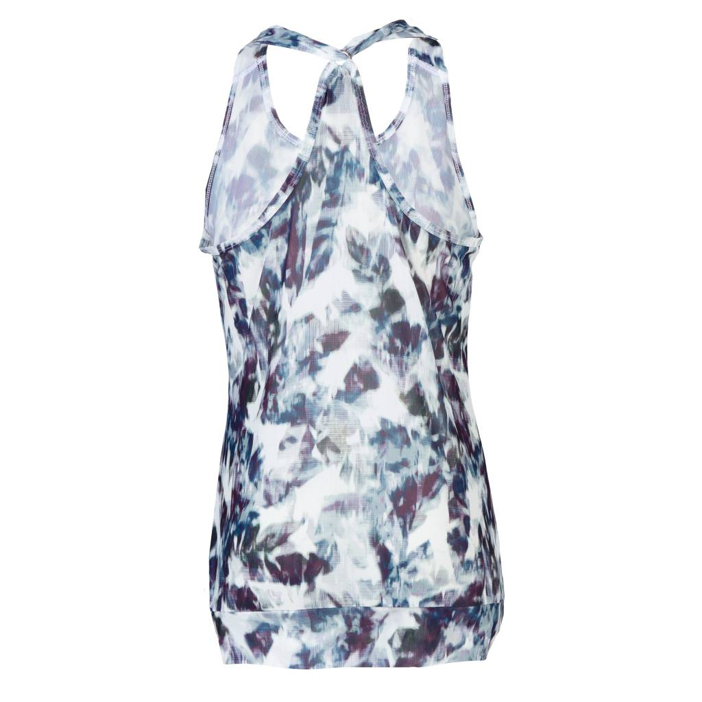 Daily Sports Active Loose Tank White