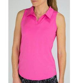 Jofit Jofit SL Cutaway Polo Rose Pink