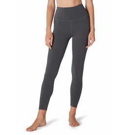 Beyond Yoga Beyond Yoga Plush Caught In The Midi High Waisted Legging Charcoal Heather Gray