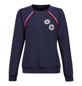 Golfino Golfino Retro Sport Sweater Blue