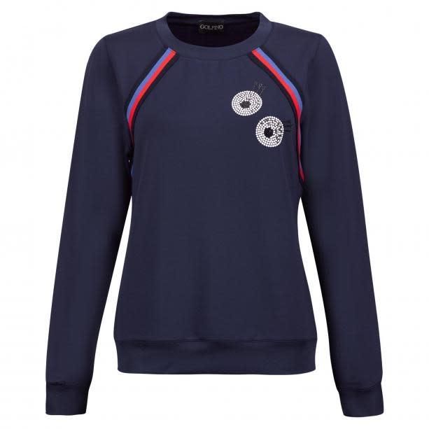 Golfino Retro Sport Sweater Blue