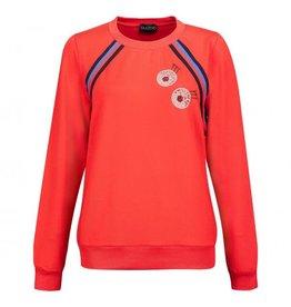 Golfino Golfino Retro Sport Sweater Scarlet
