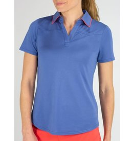 Jofit Dixie Tipped Polo Indigo