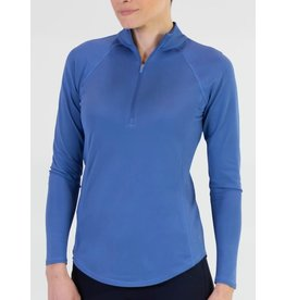 Jofit Long Sleeve Mock Indigo