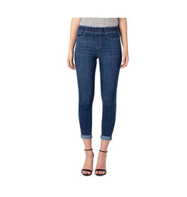Liverpool Jeans Liverpool Chloe Crop Skinny Rolled Edgewater