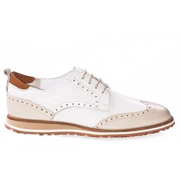 Walter Genuin Walter Genuin Cosmic Golf Shoe Beige White