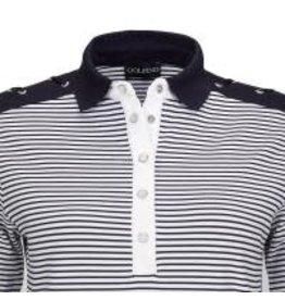 Golfino Golfino Nautical Stripes SS Polo Navy