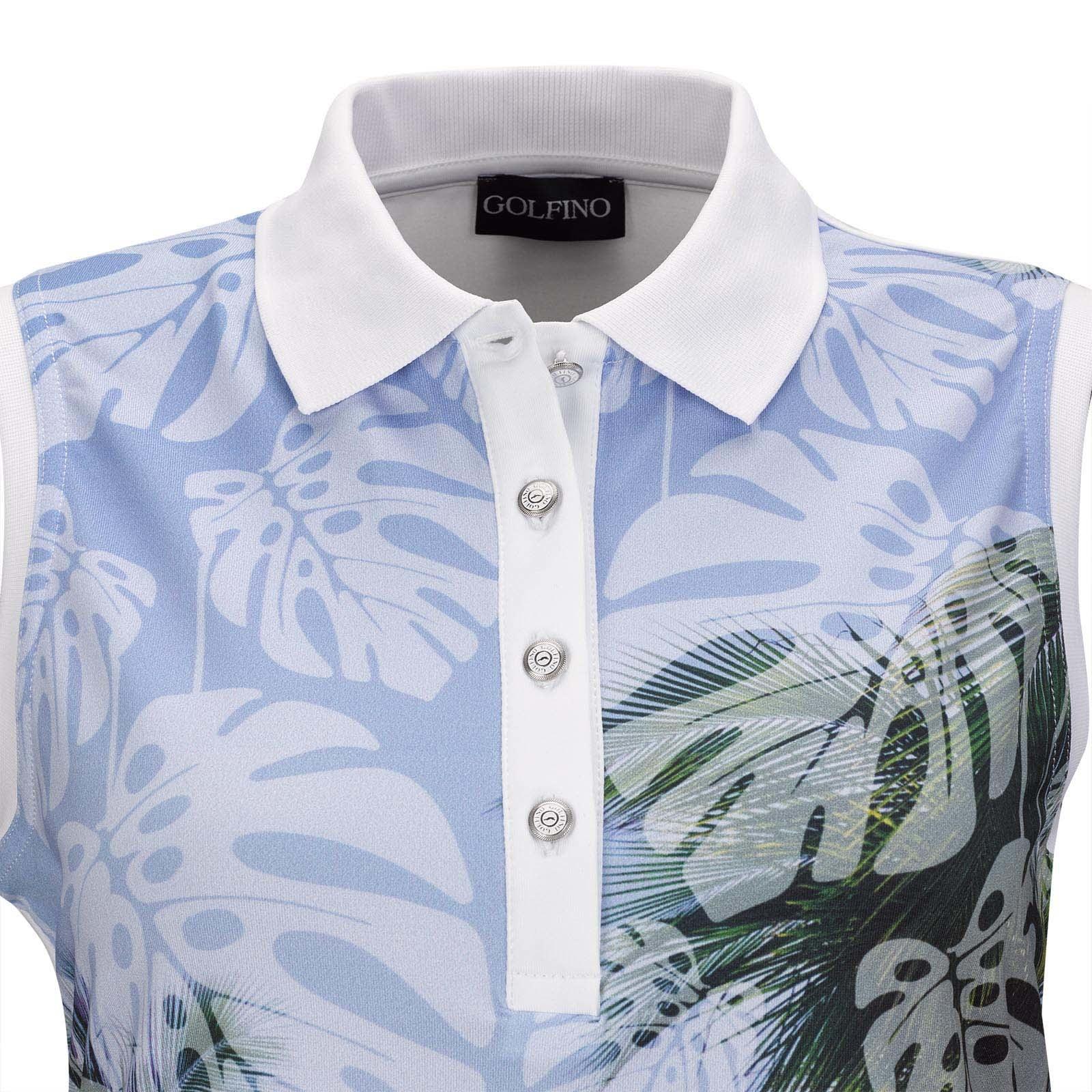 Golfino Golfino Palm Beach SL Polo White