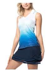 Lucky In Love Lucy in Love Longitude Ruche Tank El Blue