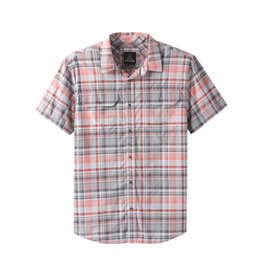 prAna Prana Cayman Plaid SS Shirt Silver Spray