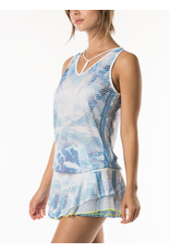 Lucky In Love Lucy in Love Axis Point Y-Strap Tank El. Blue