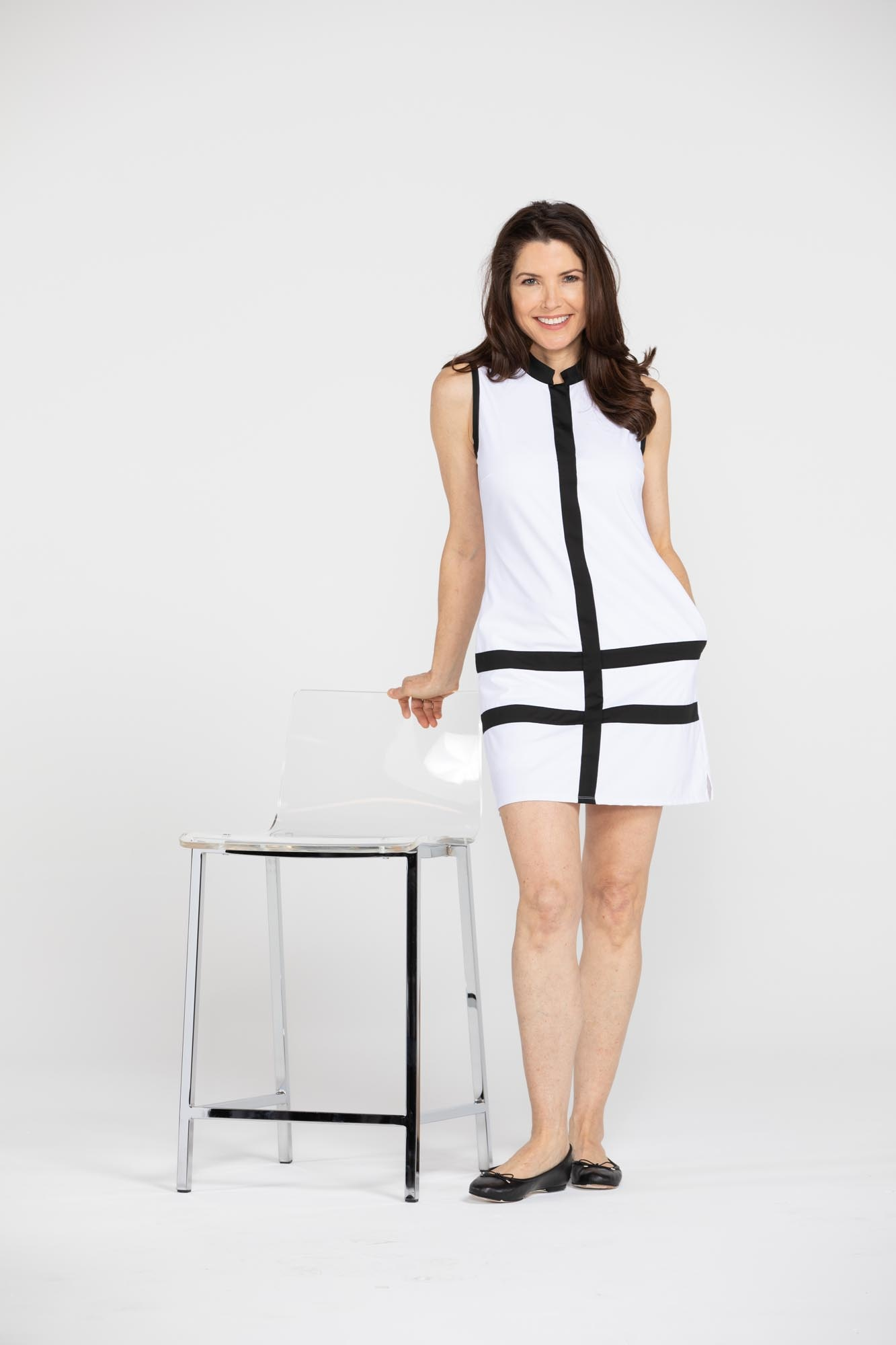 Kinona Putt and Party SL Dress White