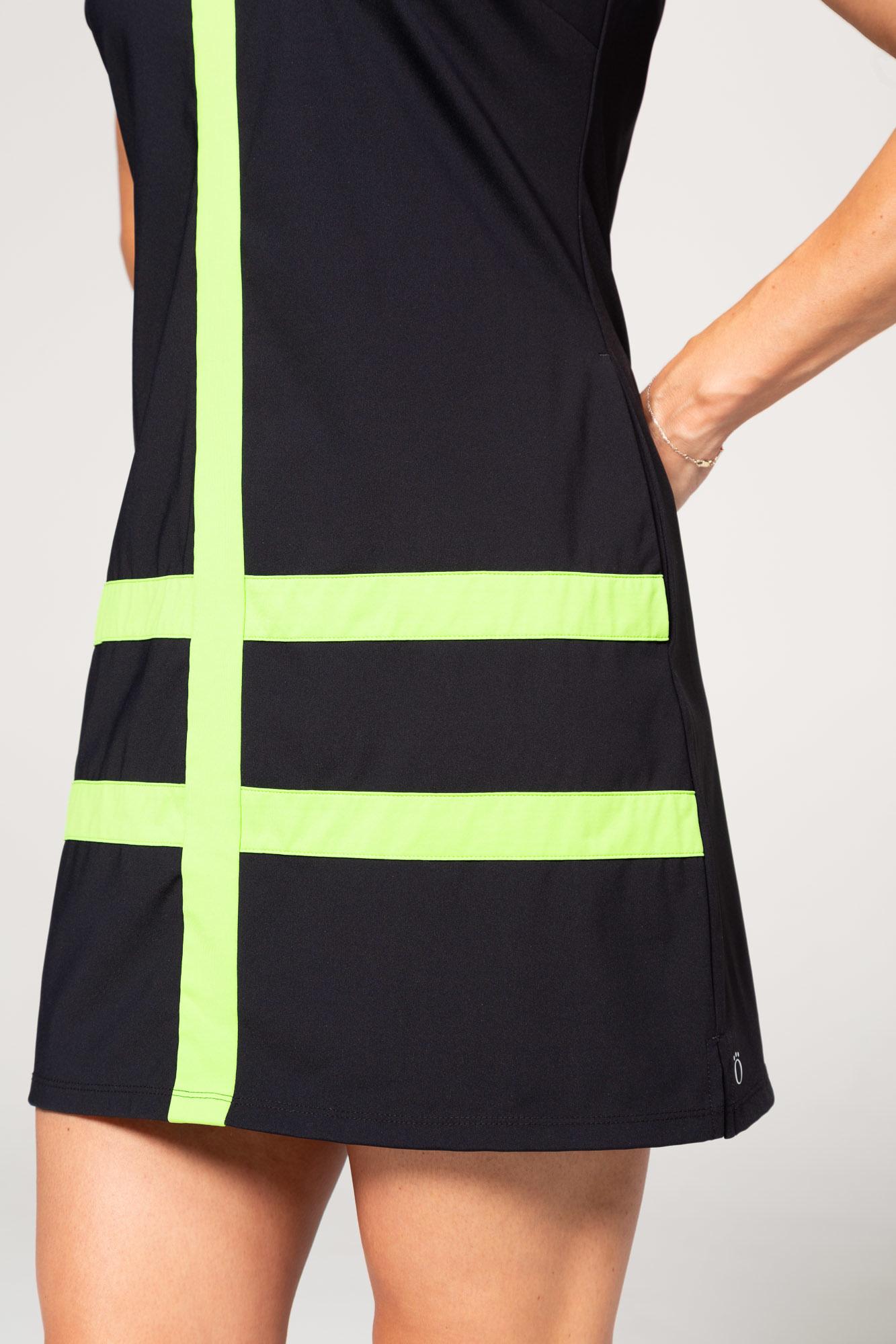 Kinona Kinona Putt and Party Sleeveless Dress Black