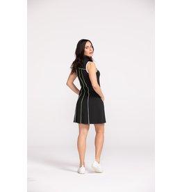 Kinona Kinona Simply Chic Sleeveless  Golf Dress Black