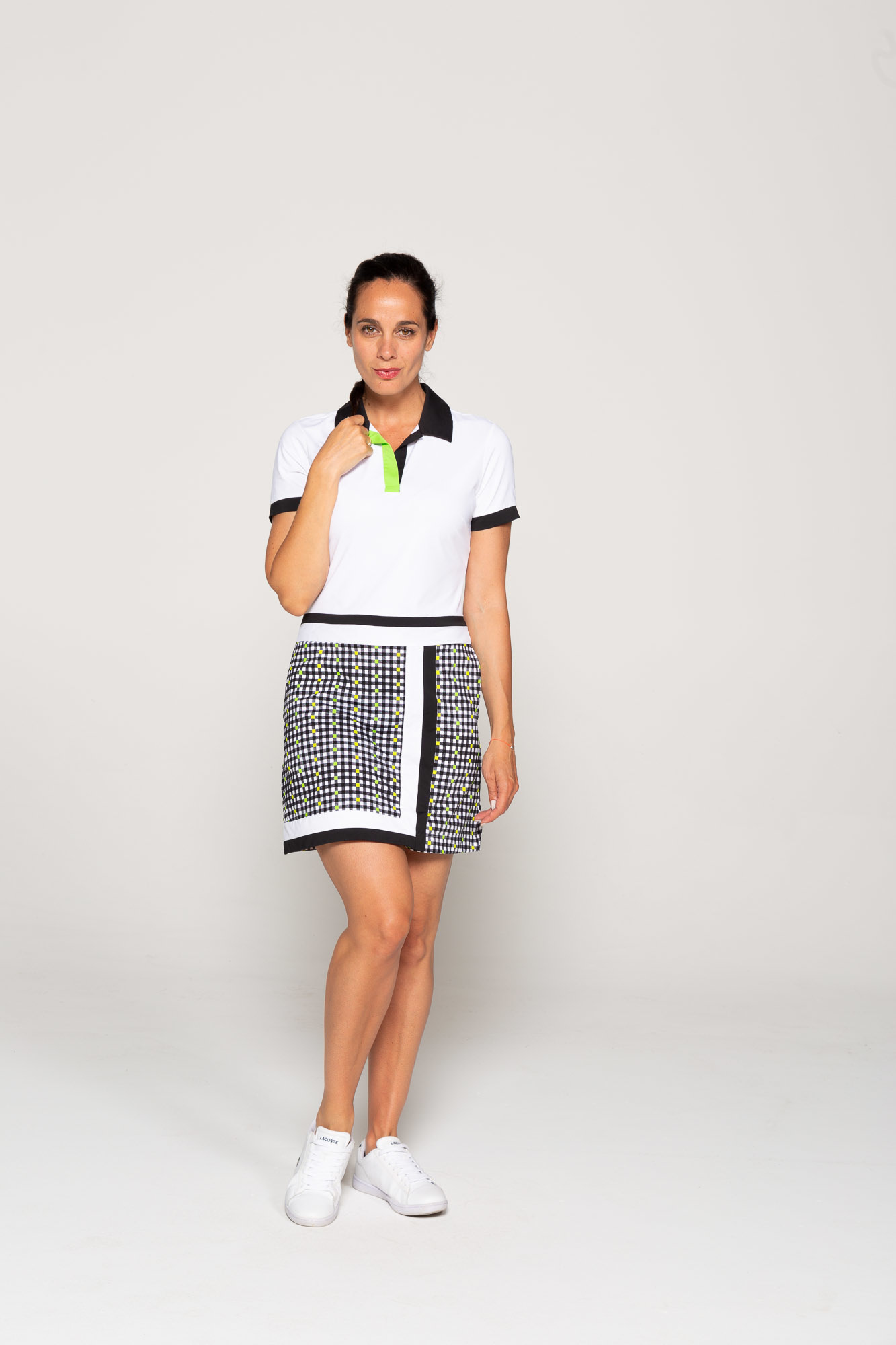 Kinona Kinona Waistline Wonder Short Sleeve Dress Gingham