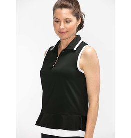 Kinona Kinona Layered Look Sleeveless Top Black
