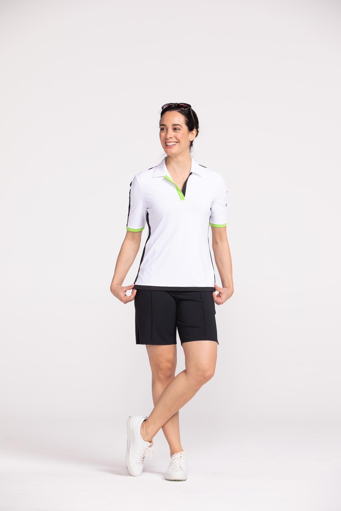 Kinona Kinona Slim & Sleek Short Sleeve Top White