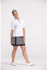 Kinona Kinona Keep it Covered Short Sleeve Top White