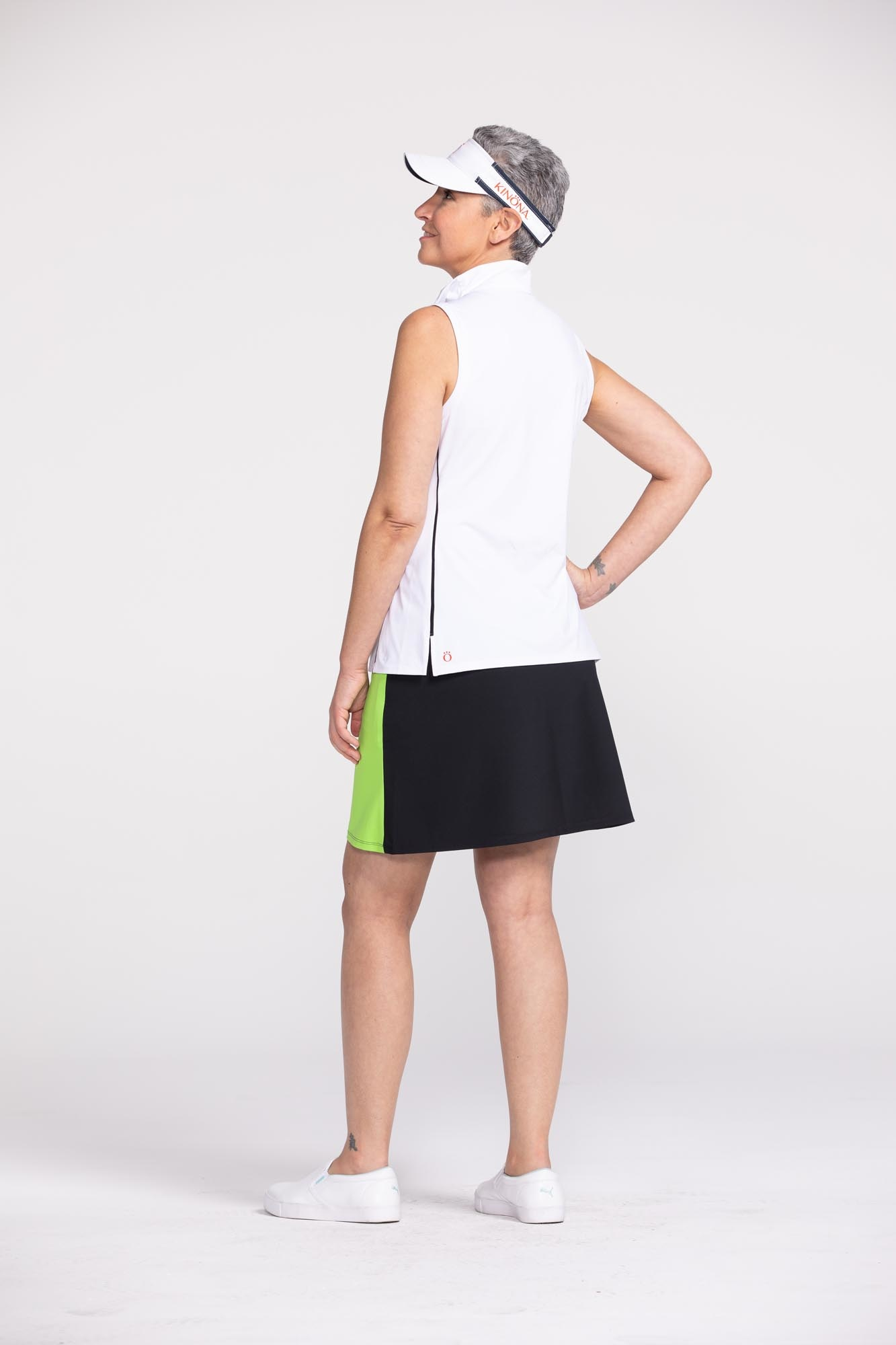 Kinona Kinona Keep it Covered Sleeveless Top White
