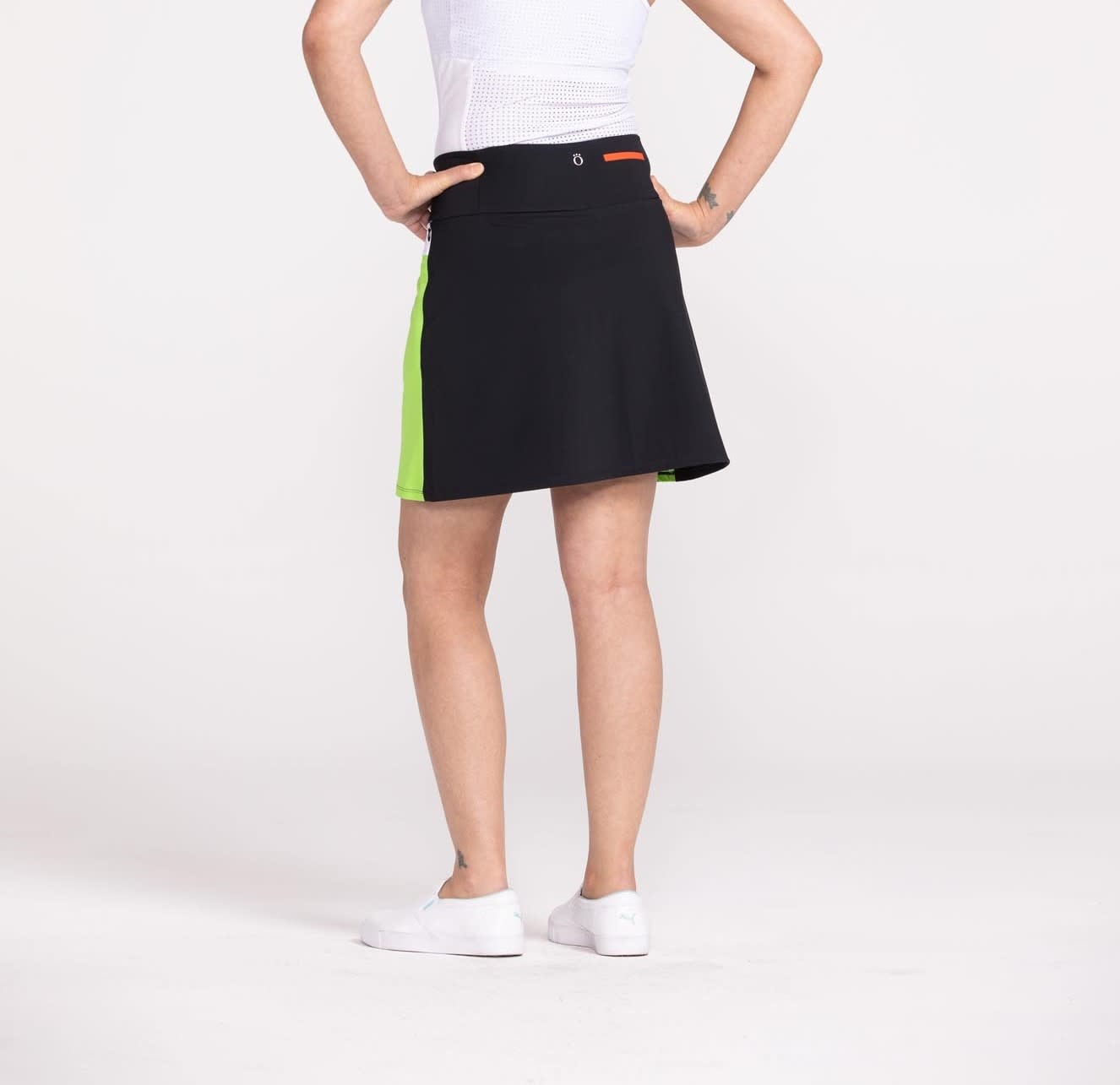 Kinona Kinona Cool Illusions Golf Skort Black