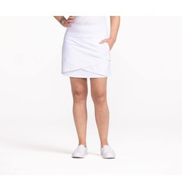 Kinona Kinona Wrap It Up Golf Skort White