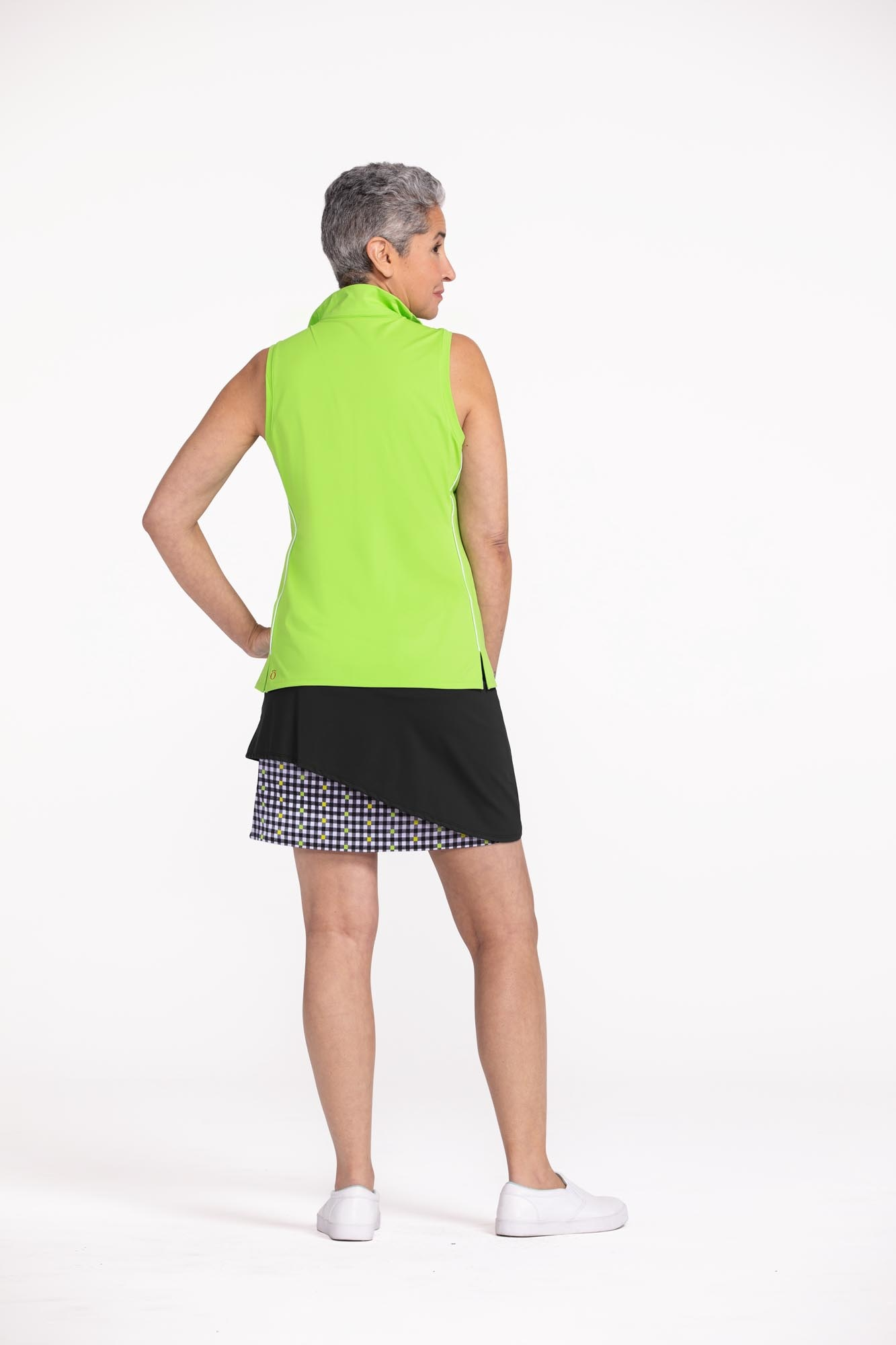 Kinona Kinona Wrap It Up Golf Skort Black